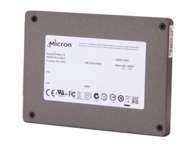 Micron RealSSD P400e MTFDDAK400MAR-1K1AA 2.5