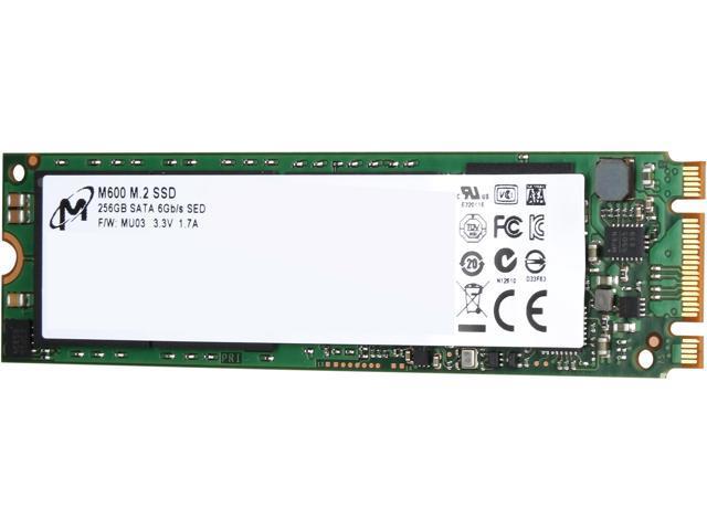Micron M600 M.2 2280 256GB SATA III MLC Internal Solid State Drive (SSD) MTFDDAV256MBF-1AN12ABYY