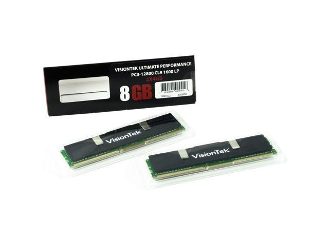 Visiontek Black Label 8GB DDR3 SDRAM Memory Module