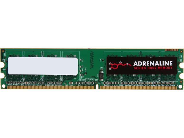 Visiontek Adrenaline 4GB 240-Pin DDR2 SDRAM DDR2 800 (PC2 6400) Desktop Memory unbuffered Model 900559