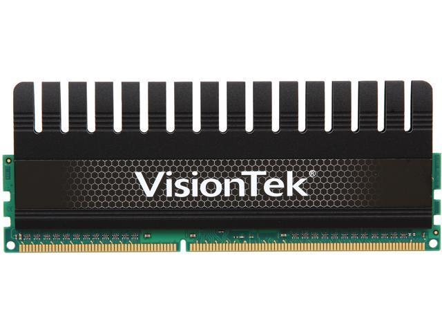 Visiontek 2GB 240-Pin DDR3 SDRAM DDR3 1600 (PC3 12800) Black Label Memory Model 900392