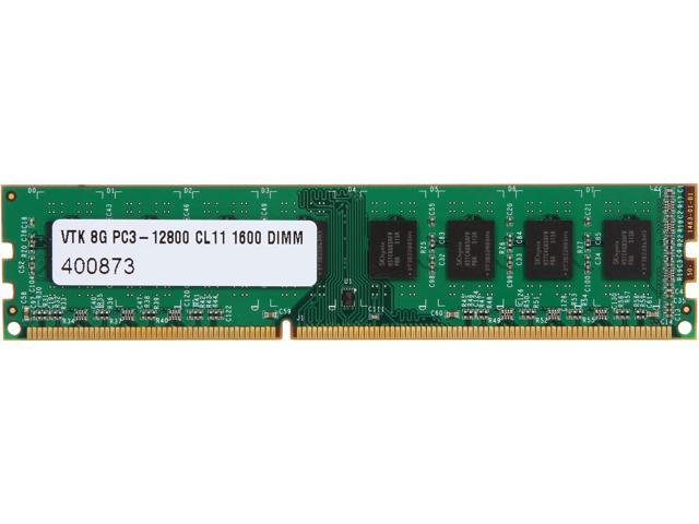 Visiontek 8GB 240-Pin DDR3 SDRAM DDR3 1600 (PC3 12800) Black Label Memory Model 900667