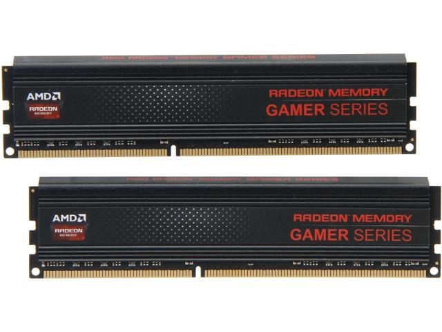 AMD Radeon Gamer Series 16GB (2 x 8GB) 240-Pin DDR3 SDRAM DDR3 2133 (PC3 17000) Desktop Memory Model AG316G2130U2K