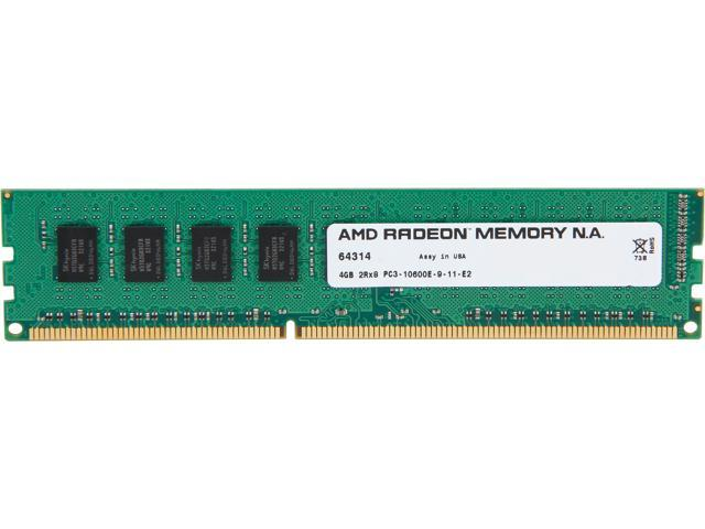 AMD Radeon 4GB 240-Pin DDR3 SDRAM ECC Unbuffered DDR3 1333 (PC3 10600) Server Memory Model AS34G1339E28SU