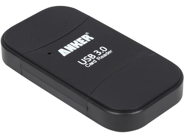 Anker 68UNMCRD-B2U 8-in-1 Uspeed USB 3.0 Card Reader 8-in-1