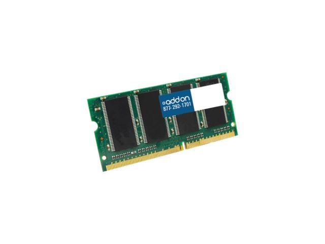 AddOn - Memory Upgrades 4GB DDR3-1333MHZ 204-Pin SODIMM F/Notebooks