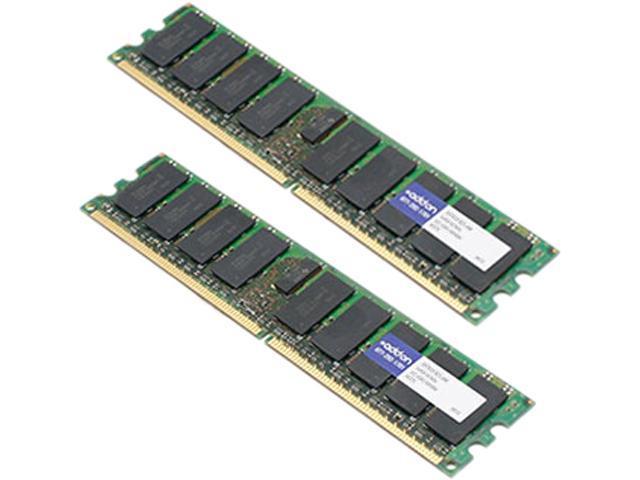 AddOn - Memory Upgrades 8GB (2 x 4GB) 240-Pin DDR2 SDRAM ECC Fully Buffered DDR2 667 (PC2 5300) Server Memory Model 397415-B21-AM
