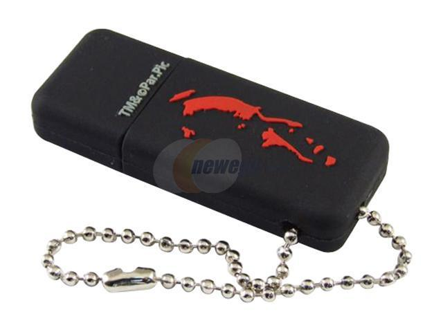 SUPER TALENT God Father series 4GB Flash Drive (USB2.0 Portable) Model STP4GBGRBK