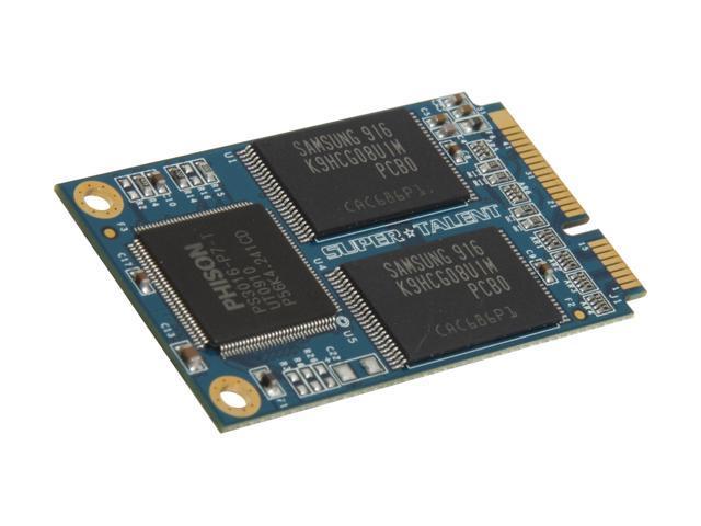 SUPER TALENT Half Mini PCIe 32GB Mini PCIe (PATA) MLC Internal Solid State Drive (SSD) FEM32GFDL