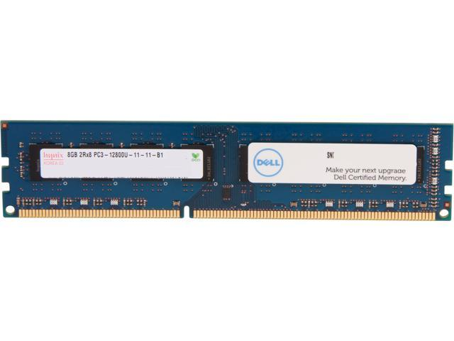 Dell 8GB 240-Pin DDR3 SDRAM DDR3 1600 (PC3 12800) Unbuffered System Specific Memory Model SNP66GKYC/8G