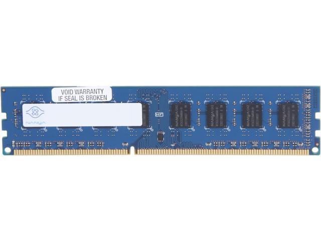 Nanya 4GB 240-Pin DDR3 SDRAM DDR3 1600 (PC3 12800) Desktop Memory Model NT4GC64B8HG0NF-D1