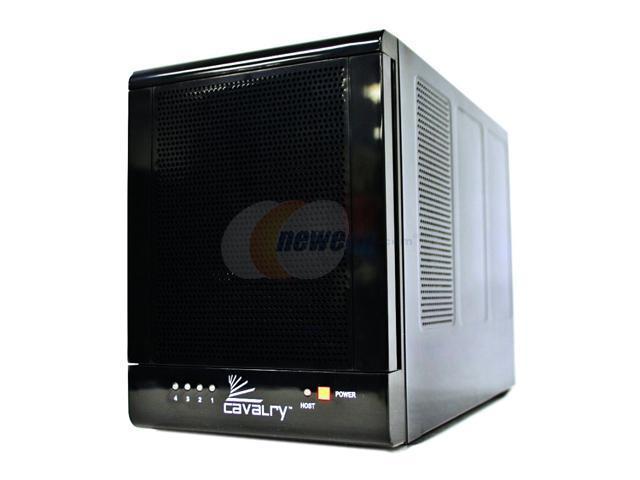 "Cavalry CADA 4TB eSATA 3.5"" 4-bay RAID Disk Array PC/Mac Compatible"