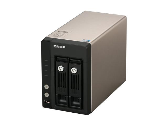 QNAP TS-259-PRO-US Diskless System Superior Performance NAS with iSCSI for Business