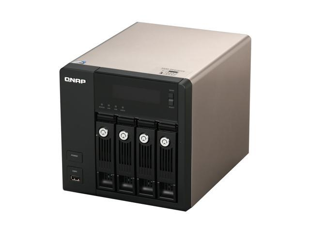 QNAP TS-439-PROII-US Diskless System TurboNAS Superior Performance NAS with iSCSI for Business