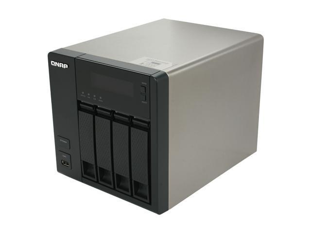 QNAP TS-419P+-US 4-Bay Turbo NAS Server with iSCSI for SMB and SOHO Users