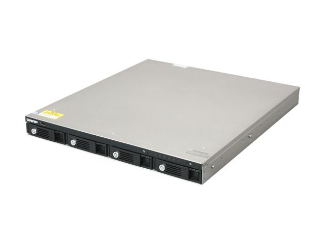 QNAP TS-459U-SP+-US 4-Bay 1U NAS with iSCSI for Business
