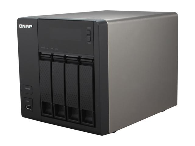 QNAP TS-419PII-US Diskless System All-in-one NAS for Home & SOHO Cloud-ready with Superior Performance