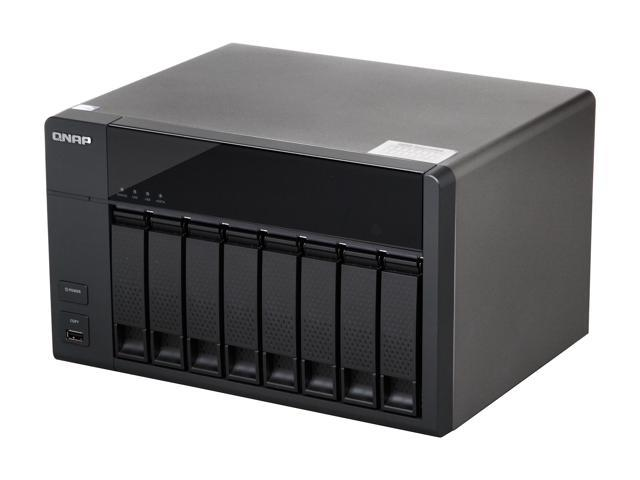 QNAP TS-869L-US Diskless System High-performance 8-bay NAS Server for SMBs