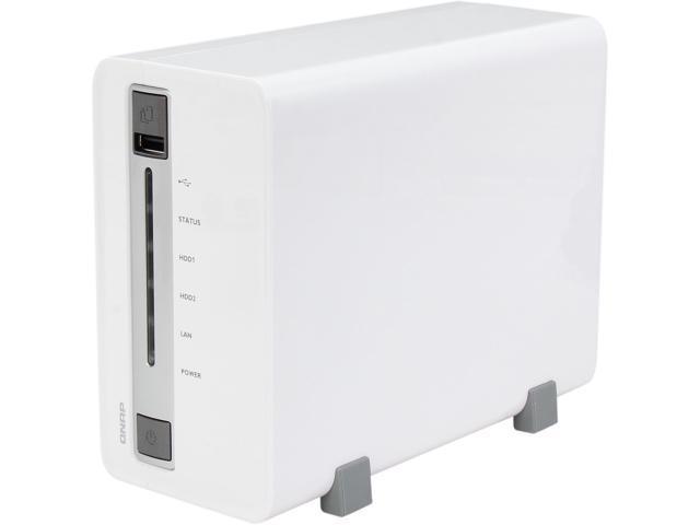 QNAP TS-212-E Diskless System Network Storage