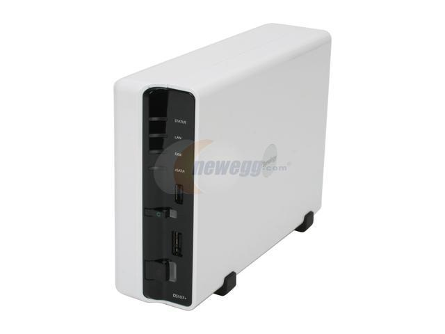 Synology DS107+(128) 1-bay SATA Network Storage Server