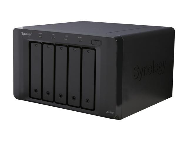 Synology DS1512+ Diskless System High Performance NAS Server Scales up to 15 Drives for SMB Users