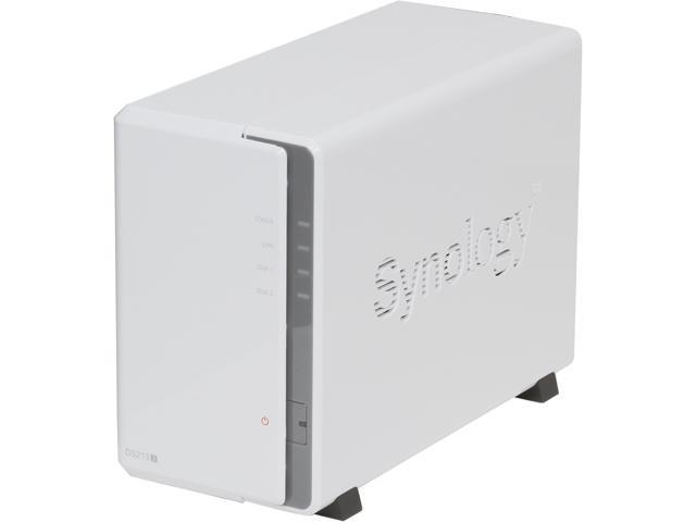 Synology DS213j Diskless System Network Storage