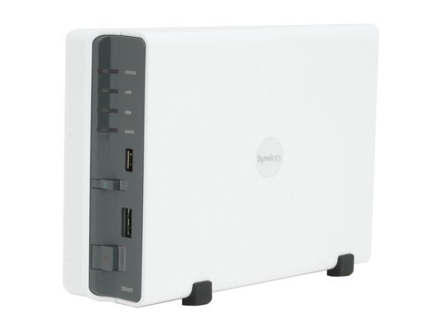 Synology DS107 1-bay SATA NAS Server