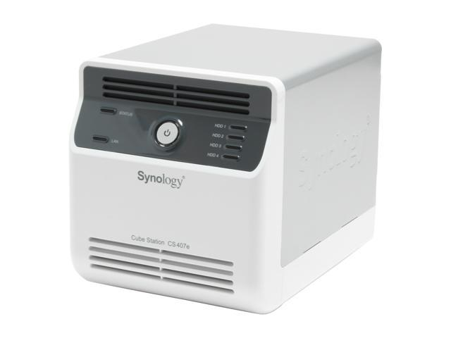 Synology CS407e Diskless System 4-bay SATA NAS Server