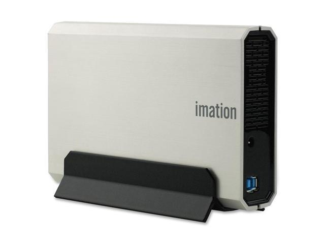 "Imation Apollo Expert 1TB USB 3.0 3.5"" External Hard Drive Silver"