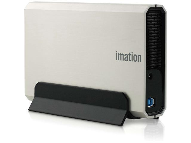 Imation Apollo Expert D300 2 TB 3.5' External Hard Drive - Silver