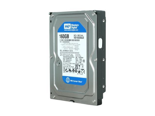 Western Digital Blue WD1600AAJS 160GB 7200 RPM 8MB Cache SATA 3.0Gb/s 3.5