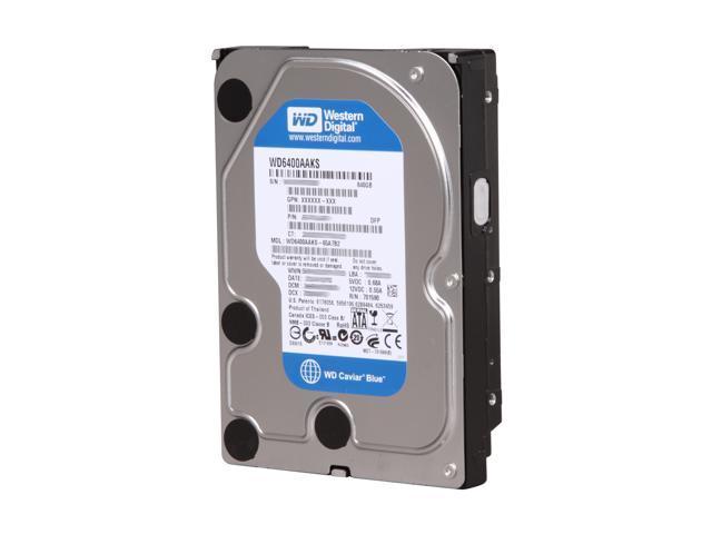 Western Digital Blue WD6400AAKS 640GB 7200 RPM 16MB Cache SATA 3.0Gb/s 3.5