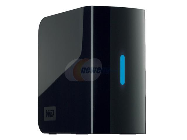 WD My Book Mirror Edition 1 TB / 500 GB Mirrored USB 2.0 External Hard Drive Black