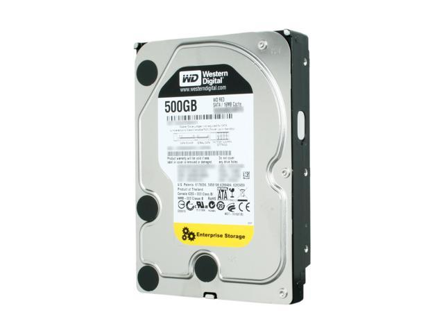 Western Digital RE3 WD5002ABYS 500GB 7200 RPM 16MB Cache SATA 3.0Gb/s 3.5