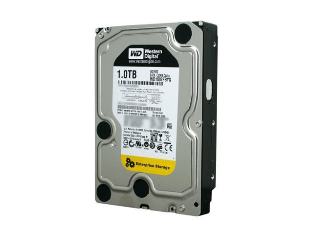Western Digital RE3 WD1002FBYS 1TB 7200 RPM 32MB Cache SATA 3.0Gb/s 3.5