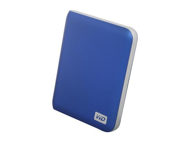 "WD My Passport Elite 320GB USB 2.0 2.5"" Portable External Hard Drive Westminister Blue"