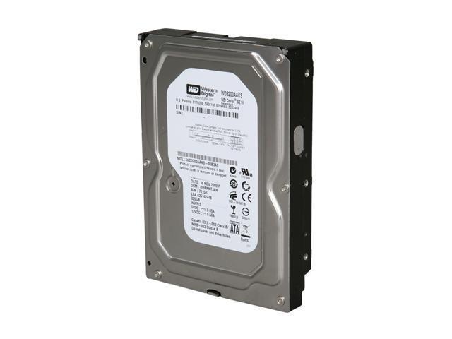 Western Digital Blue WD3200AAKS 320GB 7200 RPM 16MB Cache SATA 3.0Gb/s 3.5