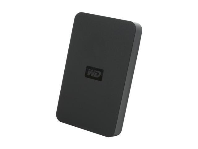 Western Digital 250GB Black Elements Portable Hard Drive WDBAAR2500ABK-NESN