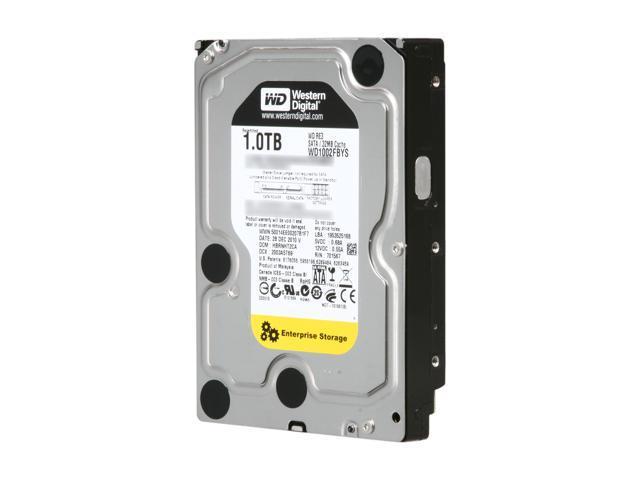 WD RE3 WD1002FBYS 1TB 7200 RPM 32MB Cache SATA 3.0Gb/s 3.5