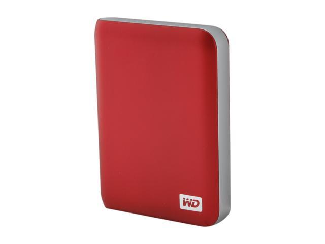 "WD My Passport Essential SE 1TB USB 3.0 2.5"" Portable Hard Drive Metallic Red"