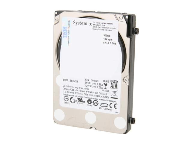 "WD Raptor 3000BLFS 300GB 10000 RPM 16MB Cache SATA 3.0Gb/s 2.5"" Enterprise Hard Drive Bare Drive"