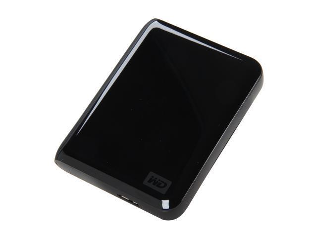 """WD My Passport Essential SE 1TB USB 3.0/USB 2.0 2.5"""" Portable Hard Drive Black"""