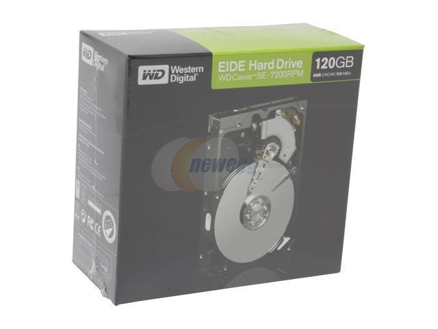 """WD Caviar SE WD1200JBRTL 120GB 7200 RPM 8MB Cache IDE Ultra ATA100 / ATA-6 3.5"""" Hard Drive"""