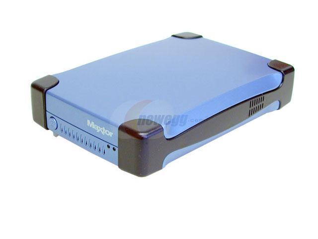 Maxtor Personal Storage 5000DV 200GB USB 2.0 / Firewire400 External Hard Drive 5000DV (T01P200)
