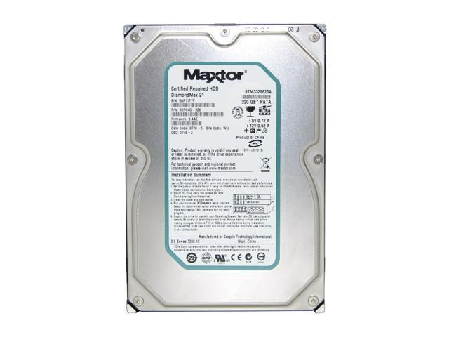 "Maxtor DiamondMax 21 STM3320620A 320GB 7200 RPM 16MB Cache IDE Ultra ATA100 / ATA-6 3.5"" Hard Drive Bare Drive"