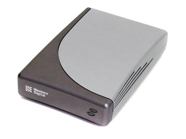 WD Dual-option USB 2.0 80GB USB 2.0 External Hard Drive WDXU800BBRNN