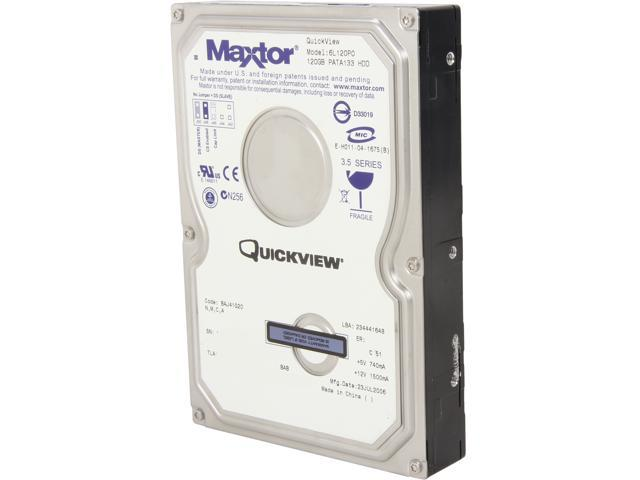 "Maxtor 6L120P0131LP6 120GB 7200 RPM 8MB Cache IDE Ultra ATA133 / ATA-7 3.5"" Internal Hard Drive Bare Drive"