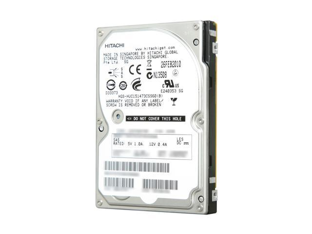 Hitachi GST 0B23727 73GB 15000 RPM SAS 6Gb/s 2.5