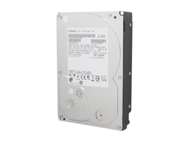 "HGST Deskstar H3IK10003272SP (0S02860) 1TB 7200 RPM SATA 3.0Gb/s 3.5"" Internal Hard Drive"