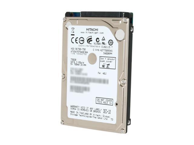 HGST Travelstar 0J11563 750GB 5400 RPM 8MB Cache SATA 3.0Gb/s 2.5